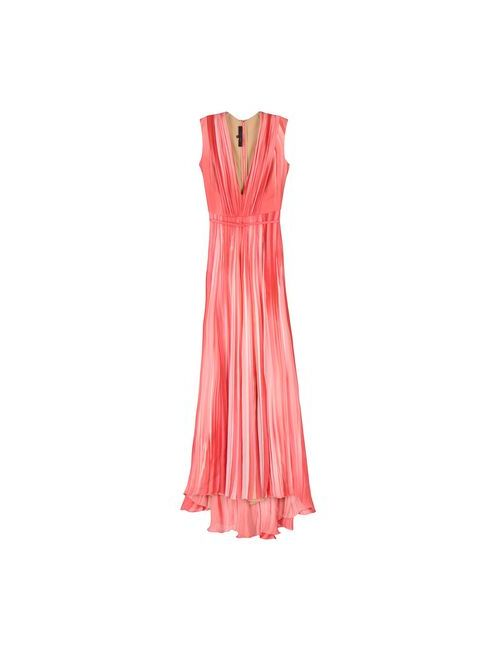 Elie Saab | Женское Фиолетовое Длинное Платье