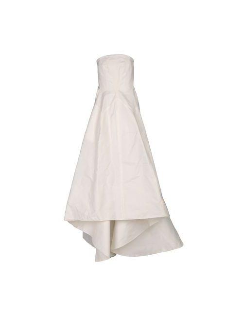Rochas | Женское Белое Длинное Платье