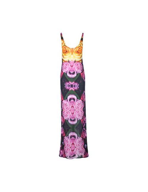 Tothem | Женское Фиолетовое Длинное Платье