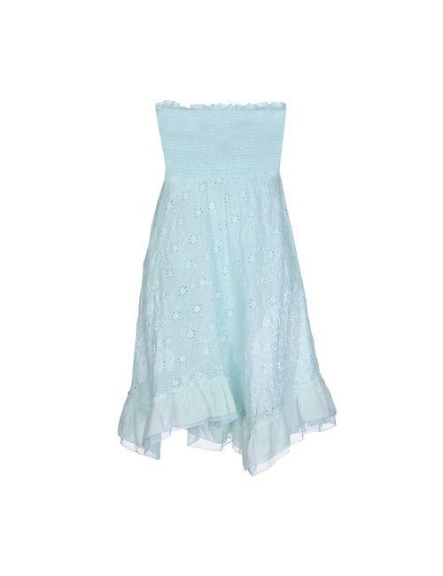 Temptation | Женское Бирюзовое Короткое Платье
