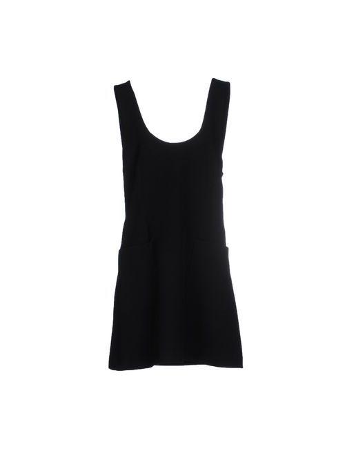 NEWLILY  PARIS | Женское Чёрное Короткое Платье