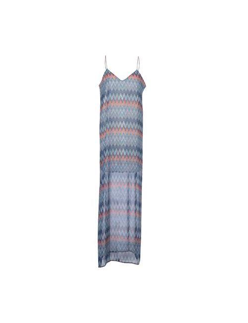 DRY LAKE. | Женское Лазурное Длинное Платье