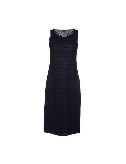 Neera | Женское Синее Платье До Колена