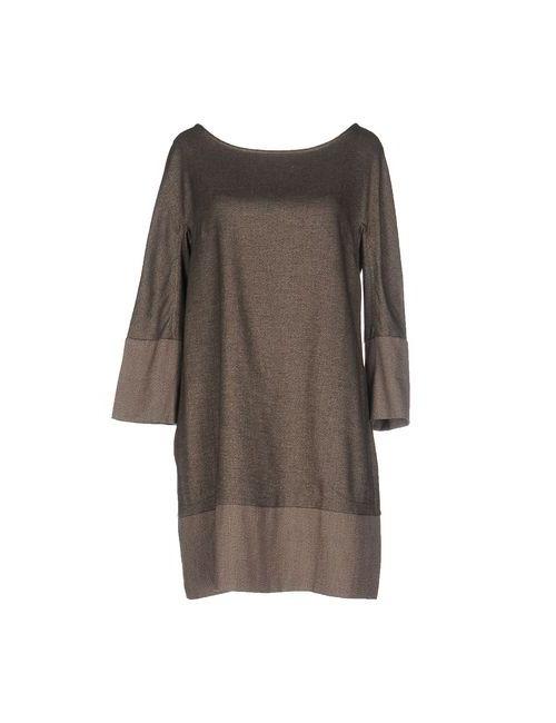 LA KICCA | Женское Серое Короткое Платье