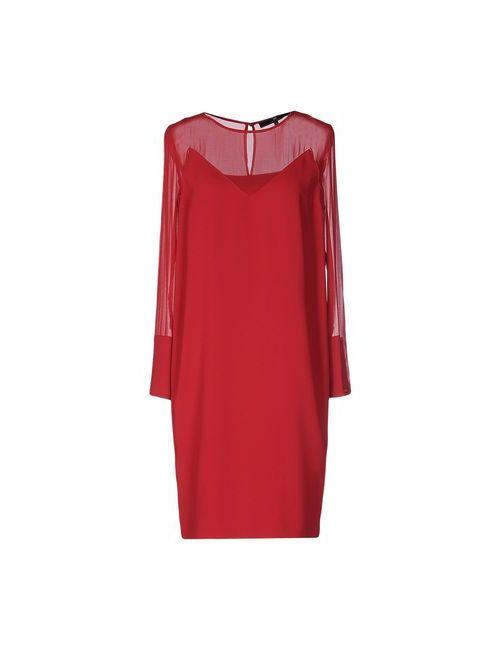 ELISABETTA FRANCHI | Женское Красное Короткое Платье