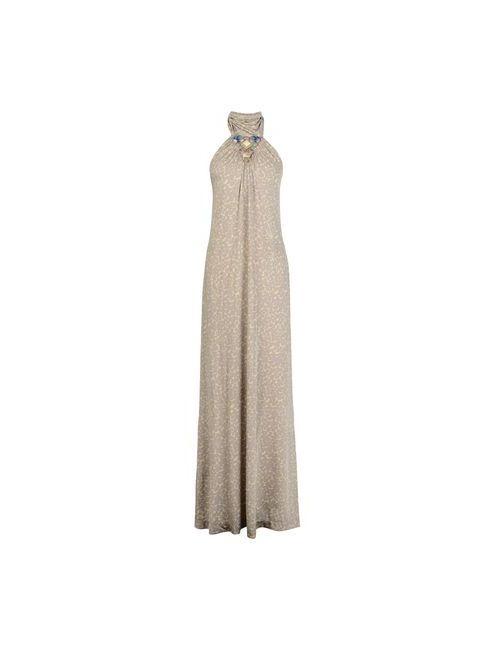 Maliparmi | Женское Бежевое Длинное Платье
