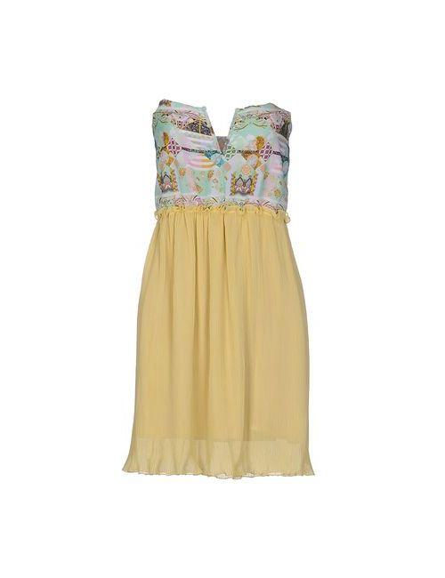 F**K Project | Женское Зелёное Короткое Платье