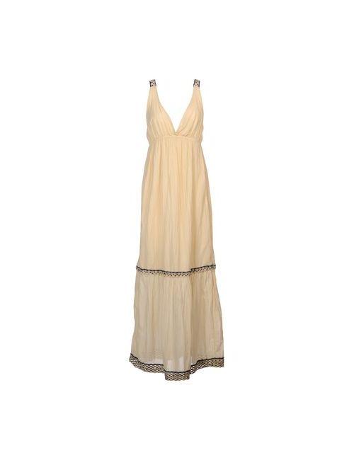 Ottod'Ame | Женское Слоновая Костящее Длинное Платье