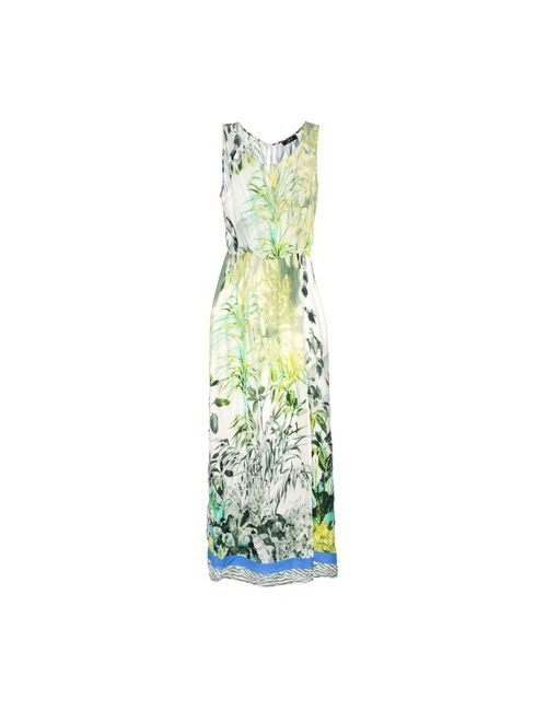 Jei O' | Женское Зелёное Длинное Платье