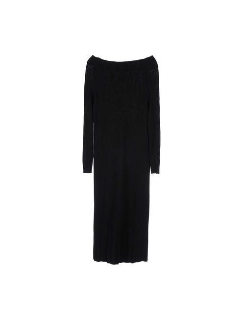 Jucca | Женское Черный Платье До Колена