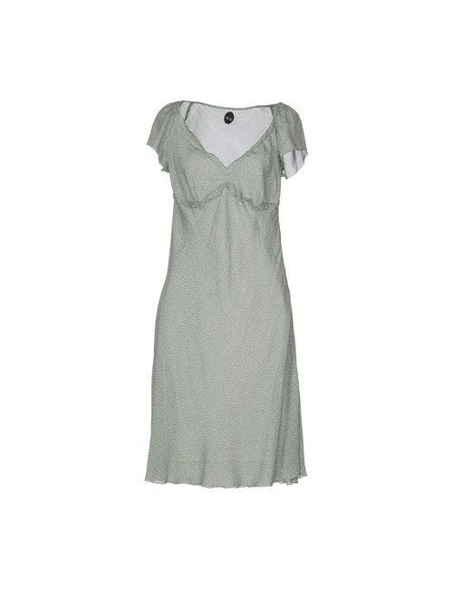 Nolita | Женское Зелёное Платье До Колена