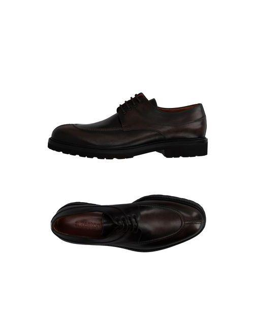A. Testoni | Мужская Коричневая Обувь На Шнурках
