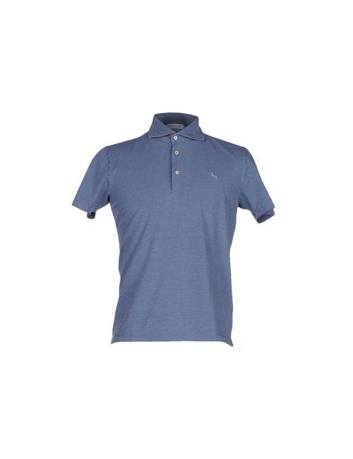 Gran Sasso   Мужское Синее Поло