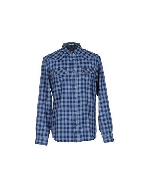 Wrangler | Мужская Синяя Pубашка