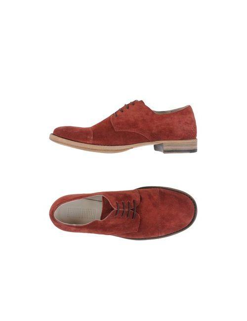 01000010 By Boccaccini | Мужская Коричневая Обувь На Шнурках