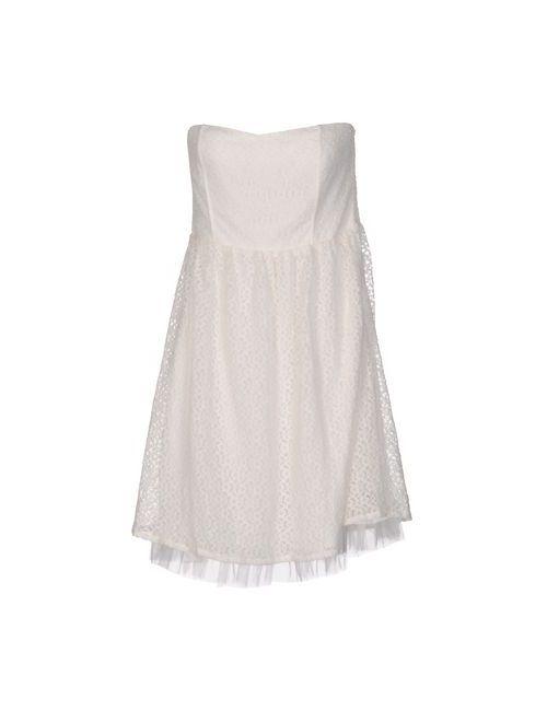 Duck Farm | Женское Слоновая Костящее Короткое Платье