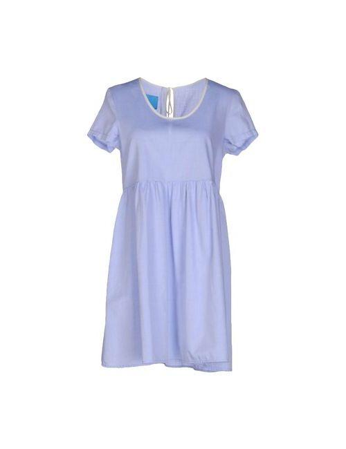 ..,Merci | Женское Голубое Короткое Платье
