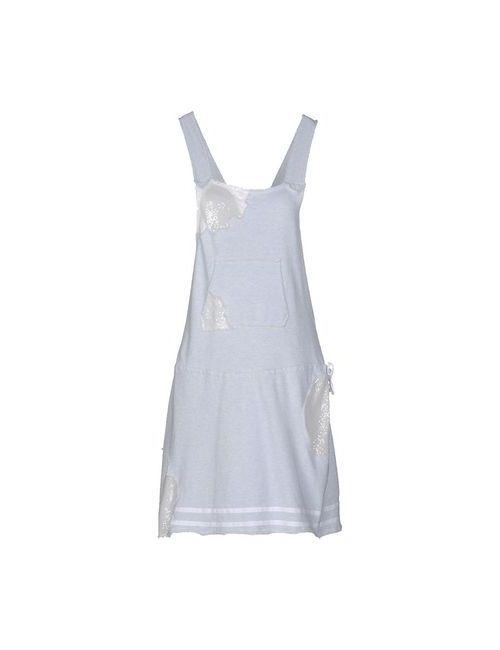 Manila Grace Denim | Женское Голубое Платье До Колена