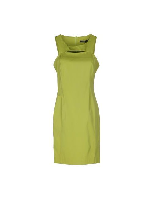 Pianurastudio | Женское Зелёное Короткое Платье