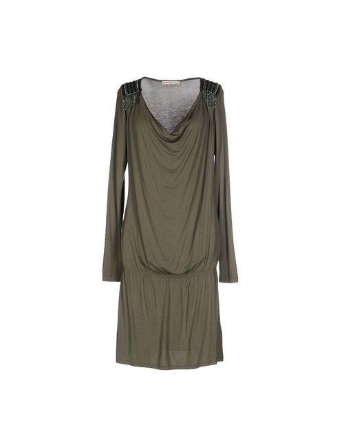 Liu •Jo Jeans | Женское Зелёное Короткое Платье
