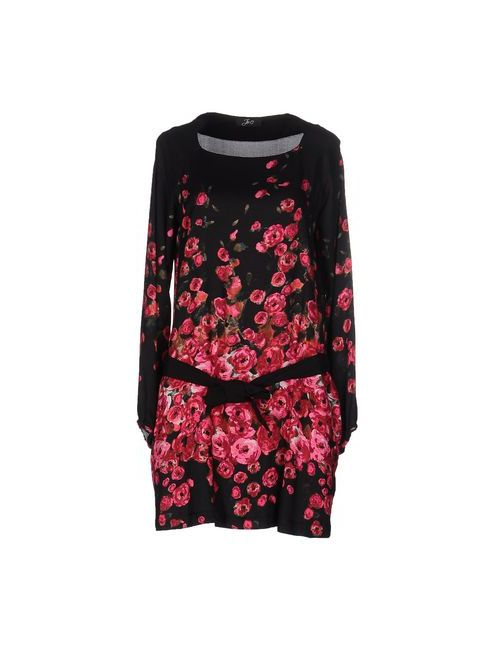 Jei O' | Женское Чёрное Короткое Платье