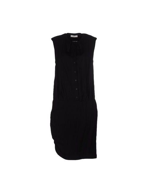 E_GO' SONIA DE NISCO   Женское Чёрное Короткое Платье