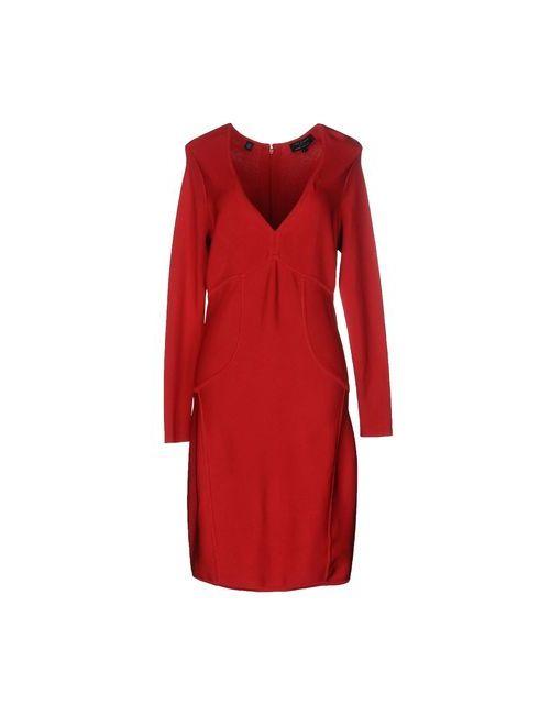 Ted Baker | Женское Красное Платье До Колена