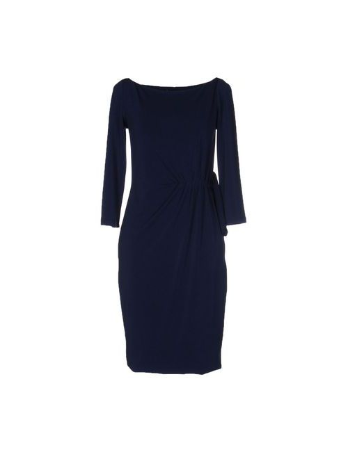 Cristinaeffe Collection | Женское Синее Короткое Платье