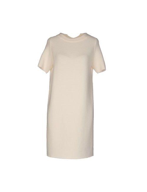 Blue Les Copains | Женское Слоновая Костящее Короткое Платье