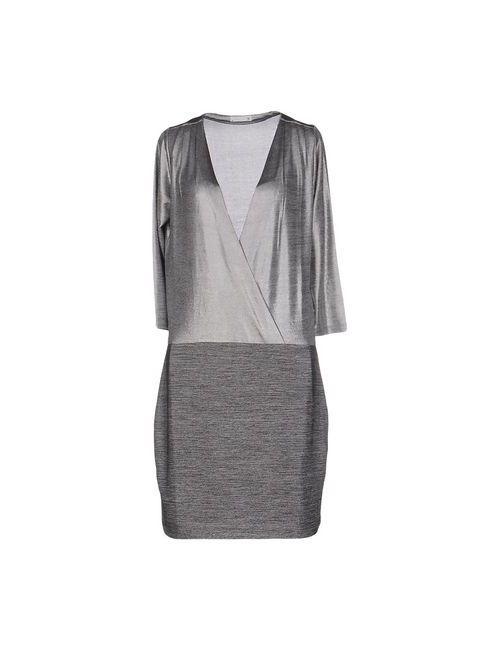 SuperTrash   Женское Серое Короткое Платье
