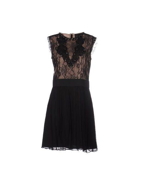 ATOS LOMBARDINI | Женское Черный Короткое Платье