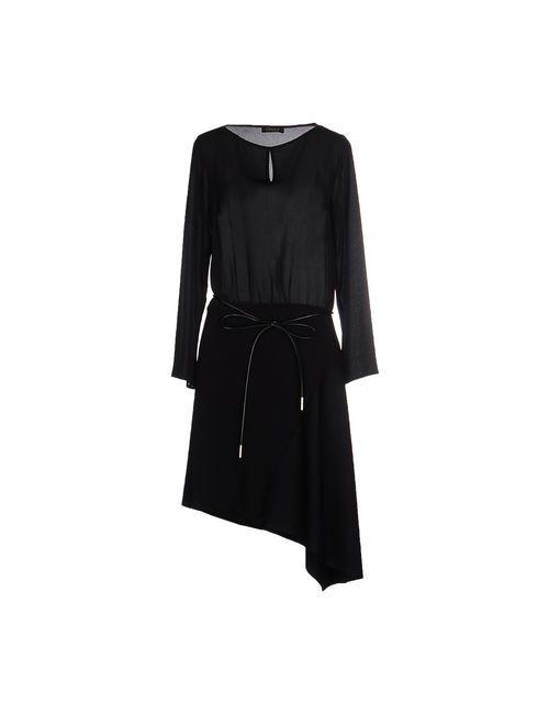 OPERÀ | Женское Чёрное Короткое Платье