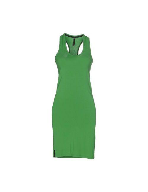 Manila Grace | Женское Зелёное Короткое Платье