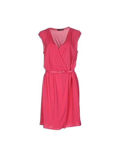Liu •Jo | Женское Фуксия Короткое Платье