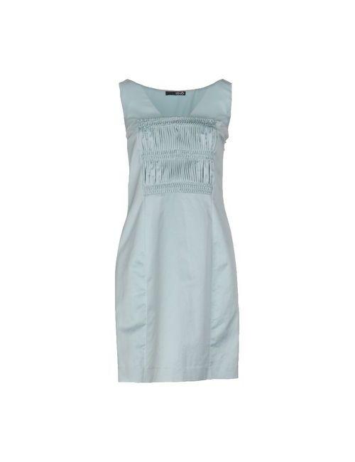 Liu •Jo | Женское Голубое Короткое Платье