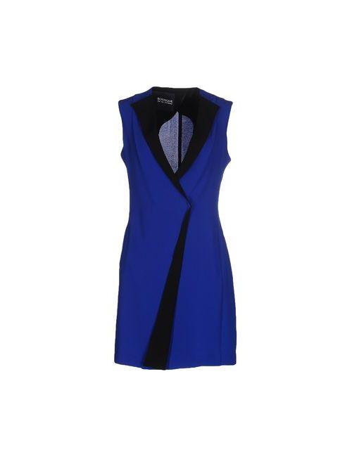 Boutique De La Femme | Женское Синее Короткое Платье