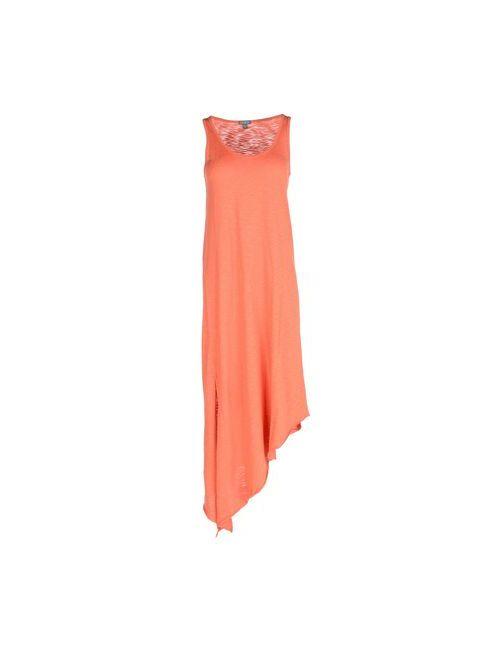 LILLA P | Женское Оранжевое Длинное Платье