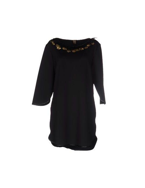 Jijil | Женское Чёрное Короткое Платье