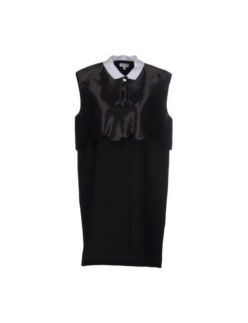 Kenzo | Женское Чёрное Короткое Платье