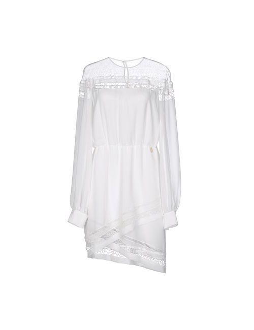 Mangano | Женское Белое Короткое Платье