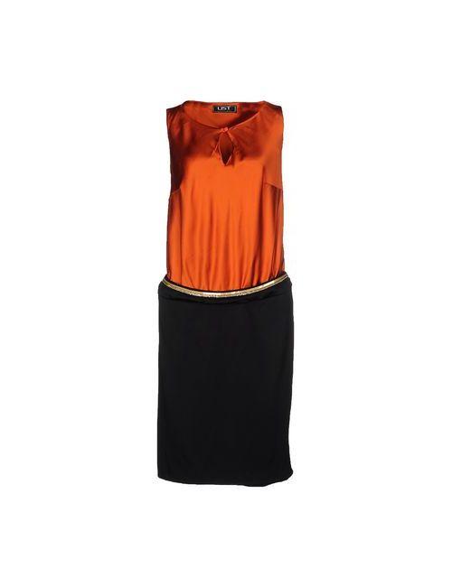 List | Женское Оранжевое Платье До Колена