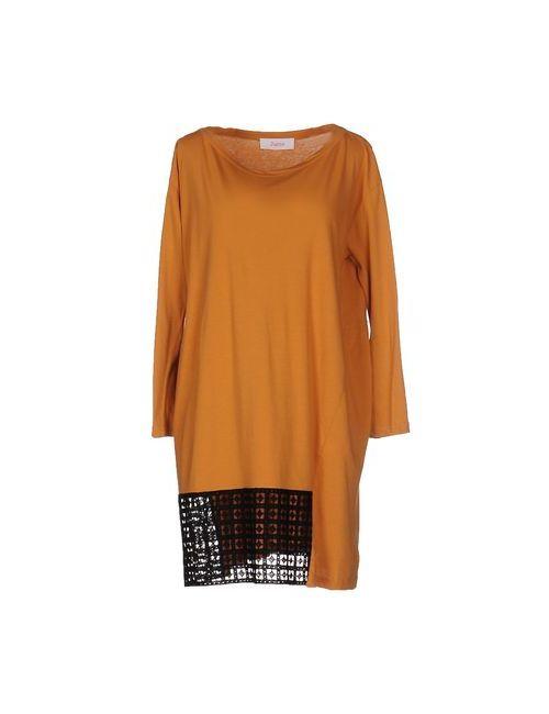 Jucca | Женское Охра Короткое Платье