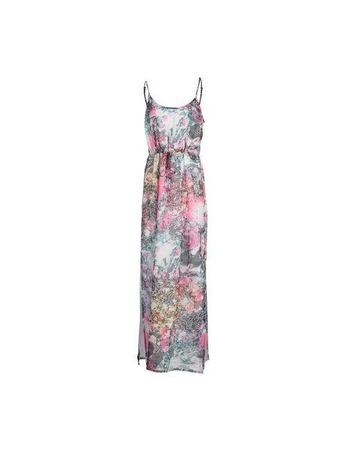 French Connection | Женское Розовое Длинное Платье