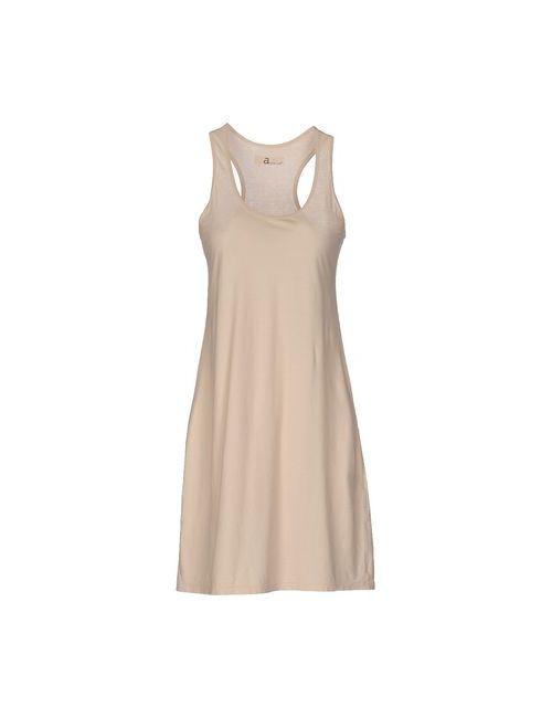 Almeria   Женское Бежевое Короткое Платье