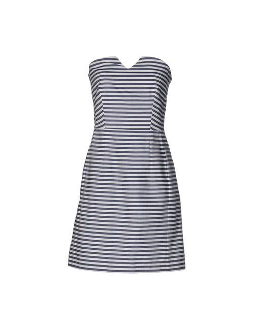 MARGAUX LONNBERG   Женское Синее Короткое Платье