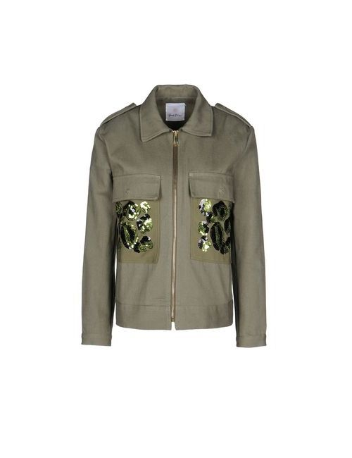George J. Love | Мужская Зелёная Куртка