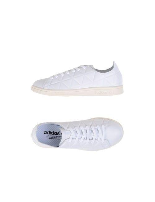 adidas Originals   Женские Белые Низкие Кеды И Кроссовки