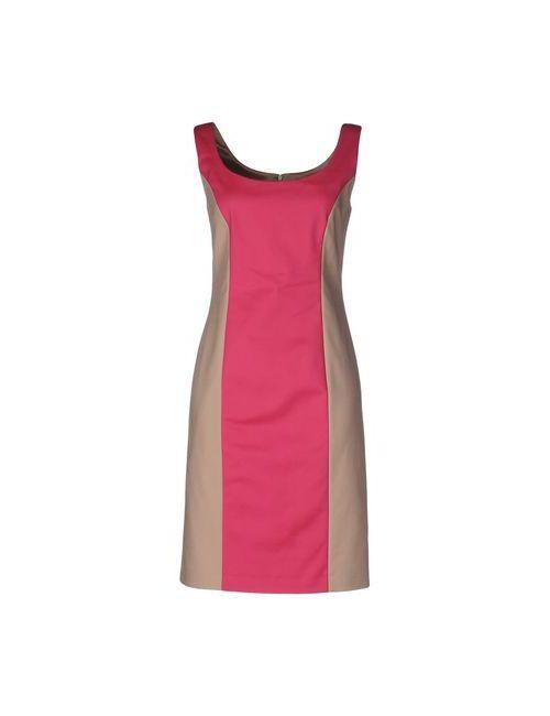 Tru Trussardi | Женское Фуксия Короткое Платье