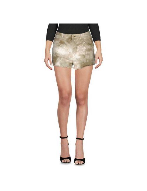 Twin-Set Jeans | Женские Зелёные Джинсовые Шорты