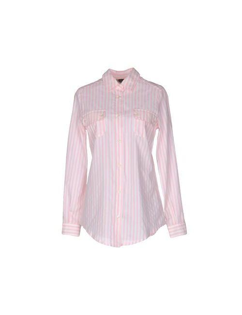 AM   Женская Розовая Pубашка